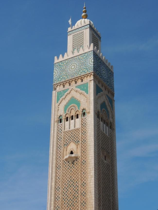 Большая мечеть Хасана II в Касабланке © Елизавета Клепнова