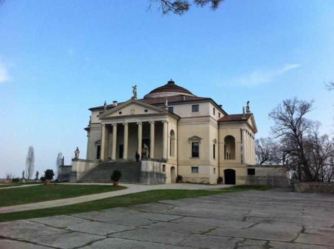 Вилла Ротонда в Виченце © Елизавета Клепнова