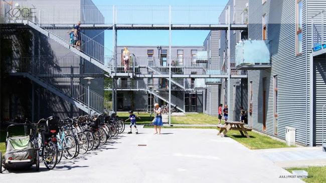 Жилой комплекс в Кёге. Изображение предоставлено VELUX