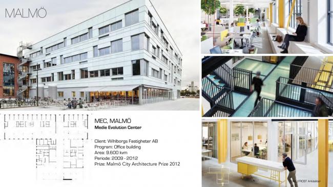 MEC (Media Evolution City) в Мальмё. Изображение предоставлено VELUX