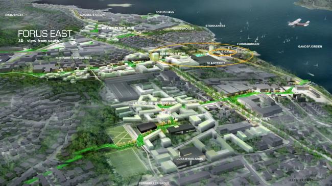 Кампус Statoil  в Форусе. Изображение предоставлено VELUX