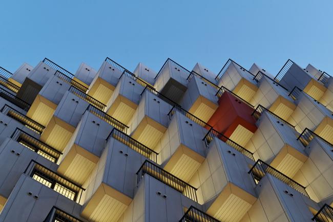 Жилой комплекс-«офистель» Gwell © JDS