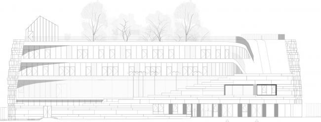 Начальная школа наук и биоразнообразия © Chartier Dalix architectes