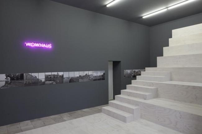 Architecture of communication. Wowhaus exhibition in Berlin Architectural Gallery © Architektur Galerie Berlin, Foto: Katharina Wendlandt