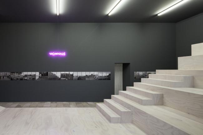 Architecture of communication. Wowhaus exhibition in Berlin Architectural Gallery © Architektur Galerie Berlin, Foto: Jan Bitter