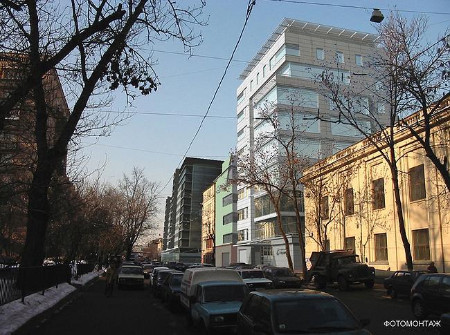 Фотомонтаж со стороны площади Маяковского