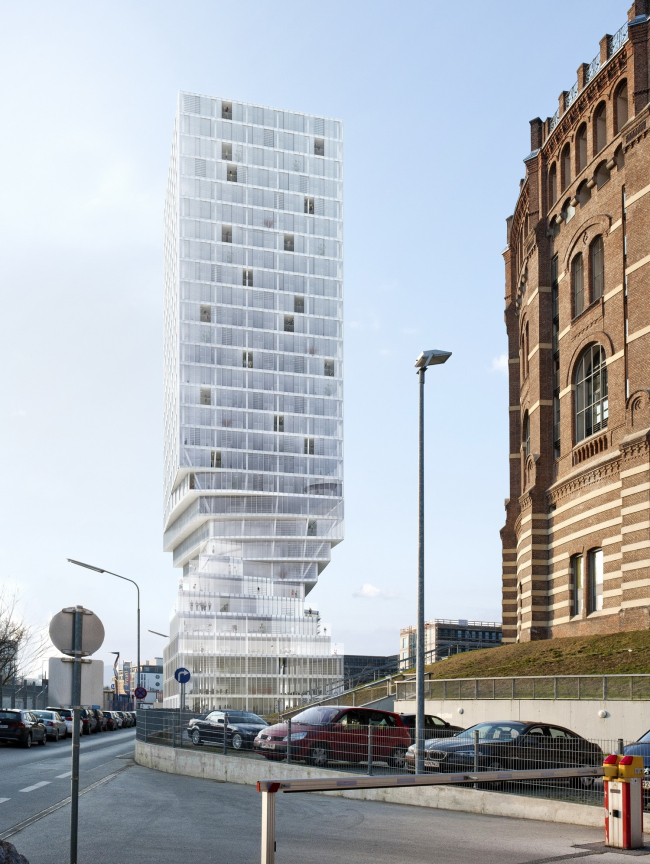 Башня Turm mit Taille © MVRDV