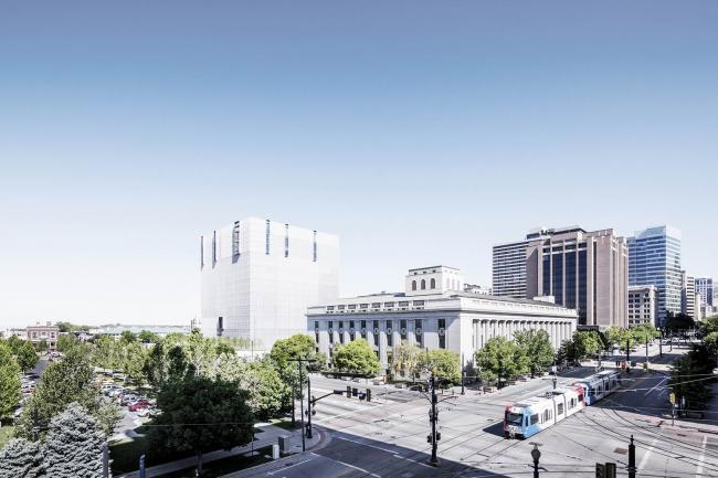 Здание Федерального суда округа Юта © Scott Frances