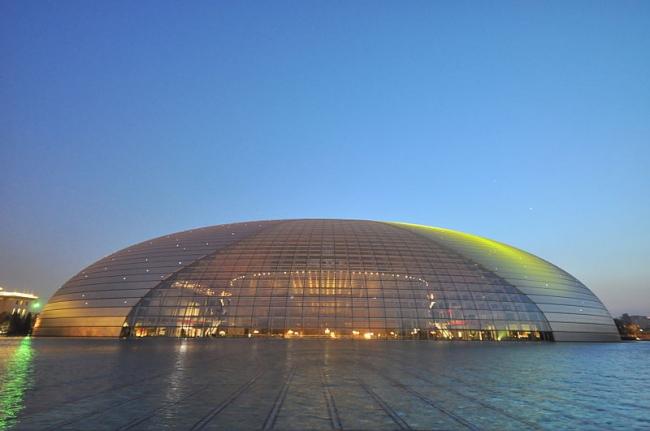 Большой народный театр Китая. Фотография: Jorge Láscar via Wikimedia Commons. Лицензия CC-BY-2.0