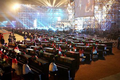 Большой народный театр Китая. Концерт в вечер открытия театра 22 декабря 2007 г.
