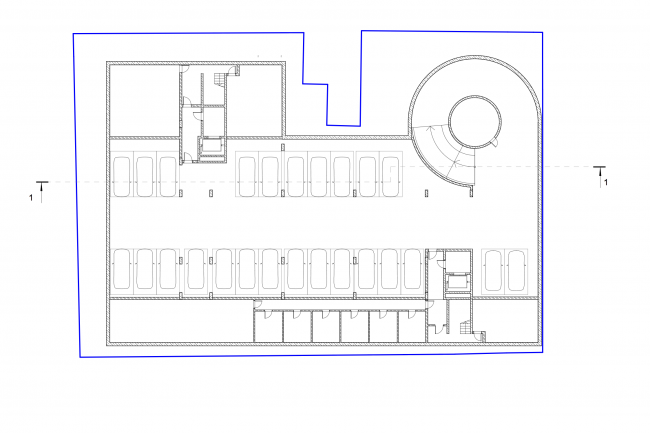 Plan of the - 2nd floor © Sergey Skuratov ARCHITECTS