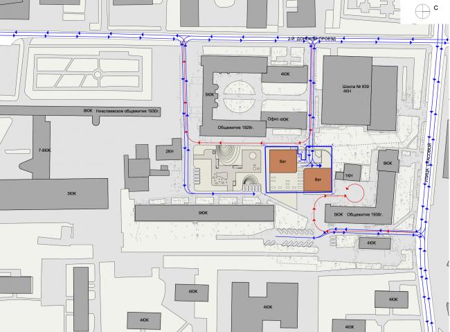 Location plan © Sergey Skuratov ARCHITECTS
