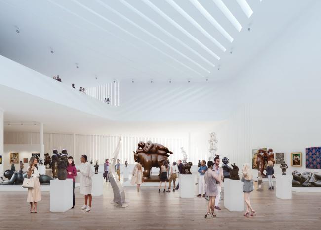 Музей латиноамериканского искусства – LAAM © FR-EE / Fernando Romero EnterprisE