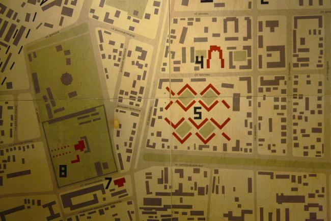 Карта района. Фрагмент. Фотография: Полина Патимова/Архи.ру