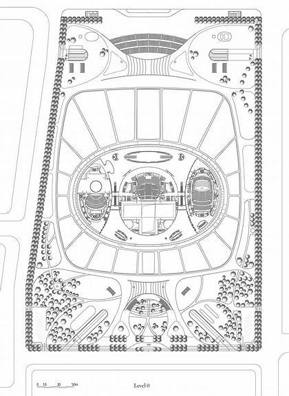 Большой народный театр Китая. План