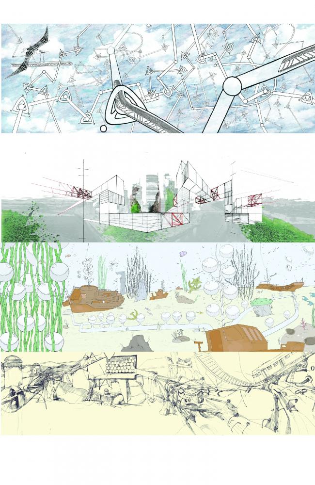 Т. Трусова, А. Бенца, К. Рыкова, А. Каракашян. «Чепуха» – работа, созданная в рамках семинара на выставке «Будущее. Метод»