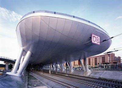 BRT Architekten Bothe Richter Teherani. Вокзал Аэропорт. Франкфурт-на-Майне, Германия