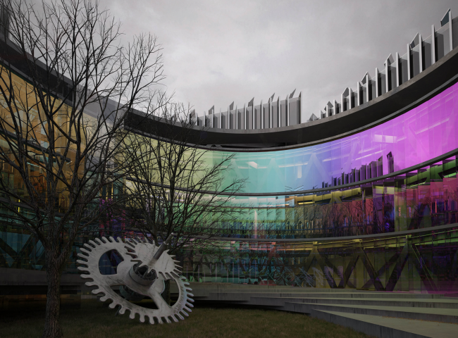 """Science and Technology Museum in Tomsk. Authors: """"Archstructure"""" (Moscow)"""