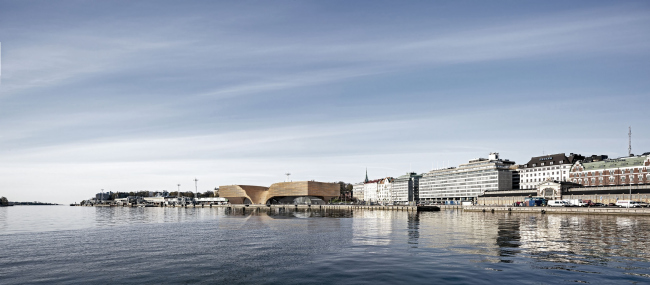 Музей Гуггенхайма в Хельсинки © ДНК аг