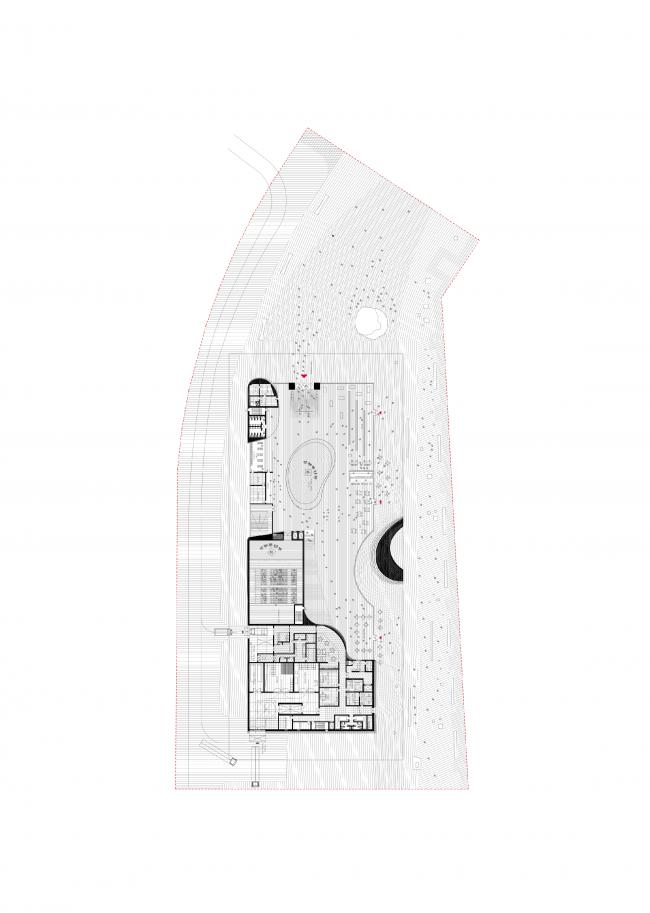 Plan of the fitst floor © DNK AG