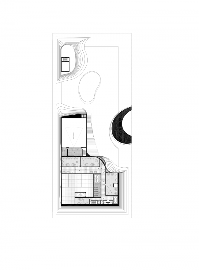 Plan of the second floor © DNK AG