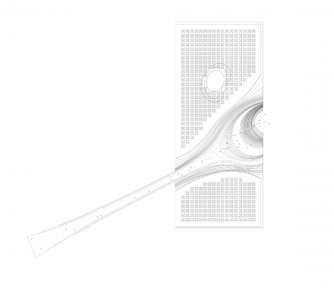 Plan of the roof © DNK AG