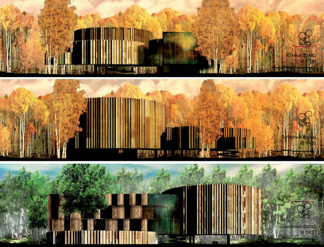 Science and Technology Museum in Tomsk. Authors: RAS + Francisco J.Mangado Beloqui, arch (Spain)