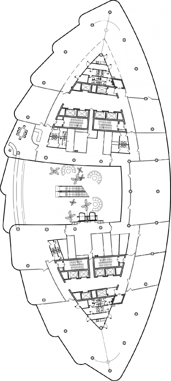План 8 этажа © SPEECH
