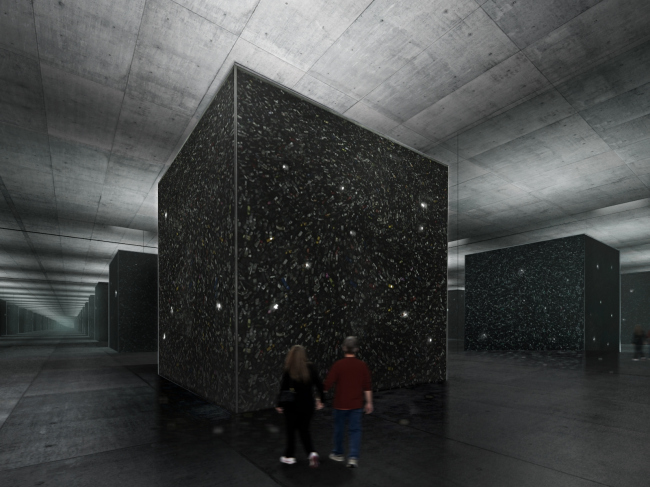 Auschwitz Memorial Complex. Monument to the martyrs of the camp © Arch group