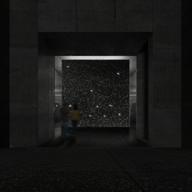 Мемориальный комплекс Освенцим. Зеркальный зал © Arch group