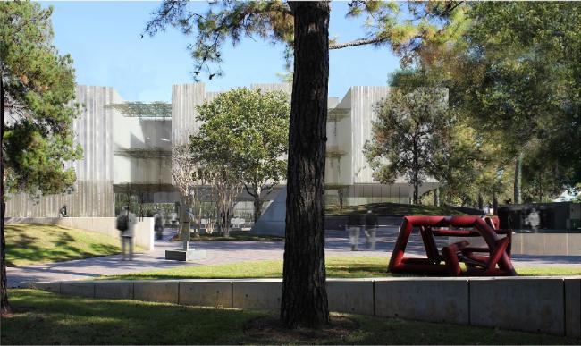 Хьюстонский Музей изобразительных искусств–реконструкция. Корпус Киндер. Предоставлено  Steven Holl Architects