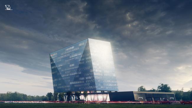 Концепции штаб-квартир компаний «Спортмастер» и «O'stin». Авторы: UNK project