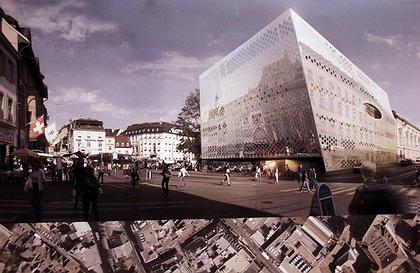 Концертный зал в Базеле: проект бюро «Херцог & де Мерон»