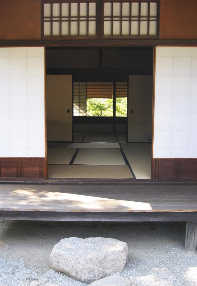Императорские дворец, парк и вилла Кацура в Киото. Фото © Peter Ebner