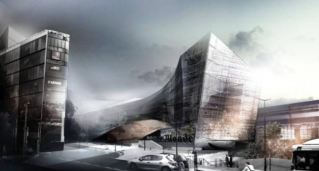 Новая штаб-квартира Le Monde © Snøhetta