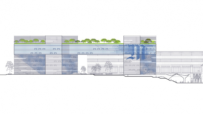 Проект Мануэль Готран © Мanuelle Gautrand Architecture