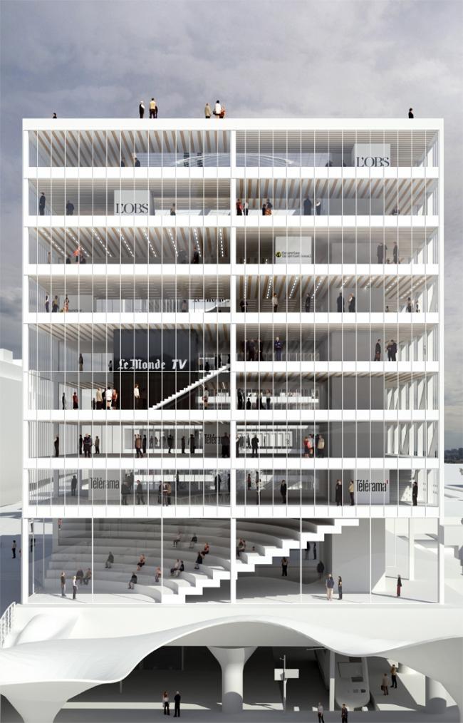 Проект Hardel + Le Bihan © Hardel + Le Bihan Architectes