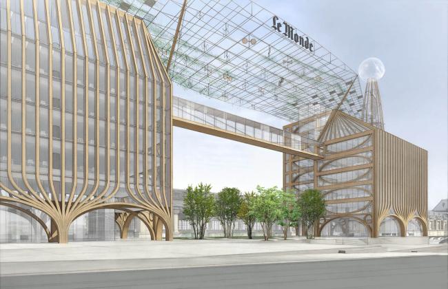 Проект Шигеру Бана © Shigeru Ban Architects