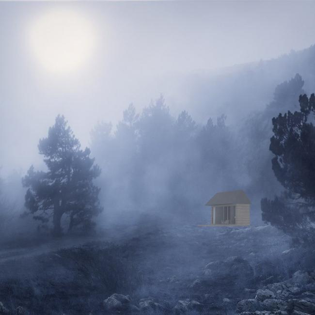 Проект экологичного жилья. Варианты размещения в разных природных условиях © Архитектурная мастерская Тотана Кузембаева