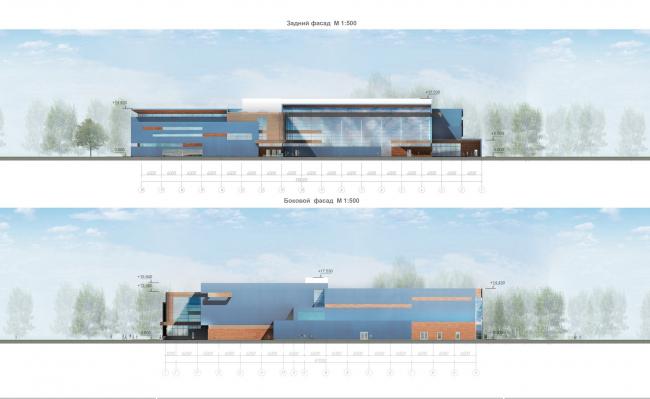 Фасады © Архитектурное бюро «А.Лен»