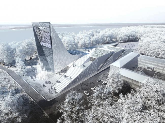 Музей науки и техники в Томске © Архитектурное бюро Асадова