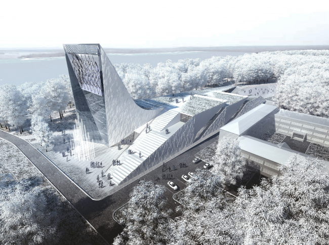 Science and Technology Museum in Tomsk © Asadov Architectural Bureau