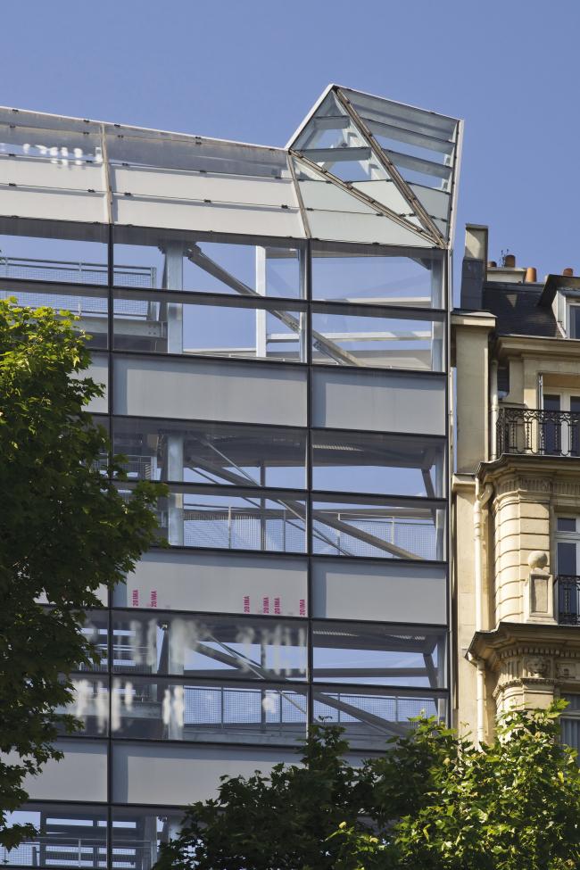 Институт генетических болезней Imagine больницы Неккер. Ateliers Jean Nouvel & Valero Gadan Architectes. Фото: Christophe Valtin