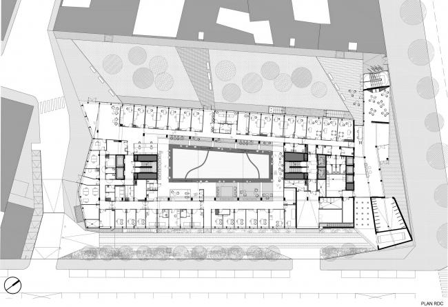 Институт генетических болезней Imagine больницы Неккер. Ateliers Jean Nouvel & Valero Gadan Architectes