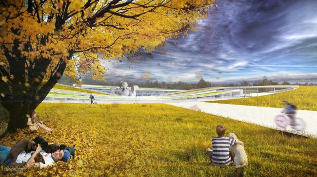 Концепция развития территории в Звенигороде. Авторы: Архитектурное агентство А.Бешу (Москва/Париж)