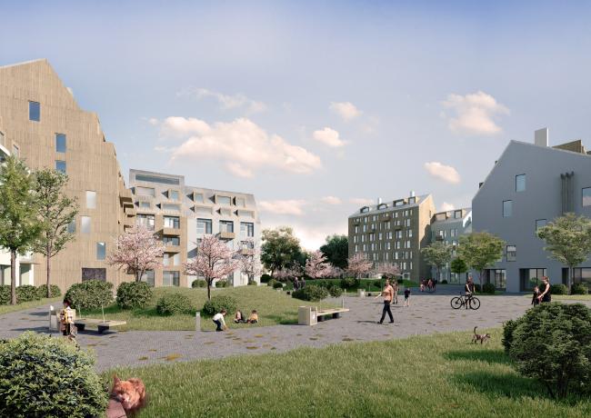 Концепция развития территории в Звенигороде. Авторы: «Архимед Плюс» (Москва)