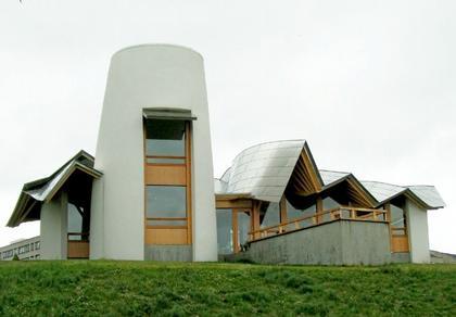 Фрэнк Гери. Центр Мэгги больницы Найнвеллс в Данди. 2003
