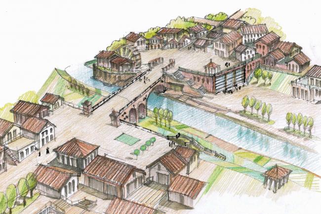 Концепция развития территории в Звенигороде. Авторы: «Юниарс» (Москва)