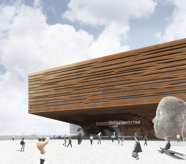 Guggenheim Museum in Helsinki © DNK AG