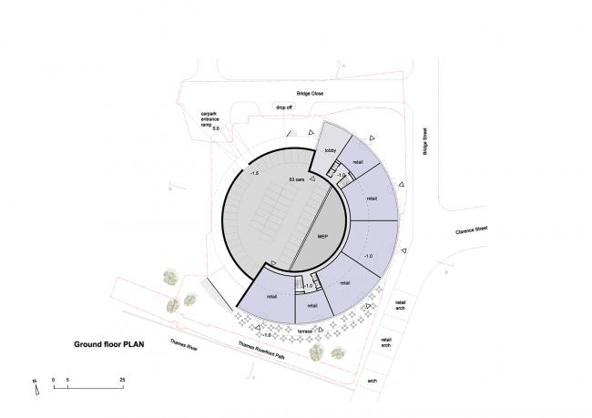 Жилой комплекс в Стайнсе-на-Темзе © Architects of Invention